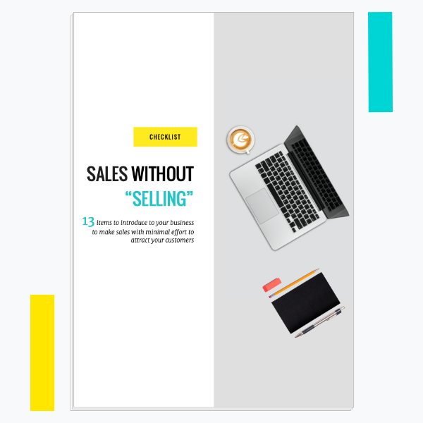 davaii sales without selling checklist